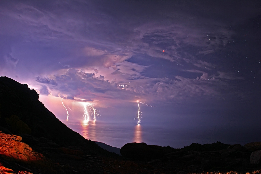 Lightning Strikes Beautiful Places Best Places In The
